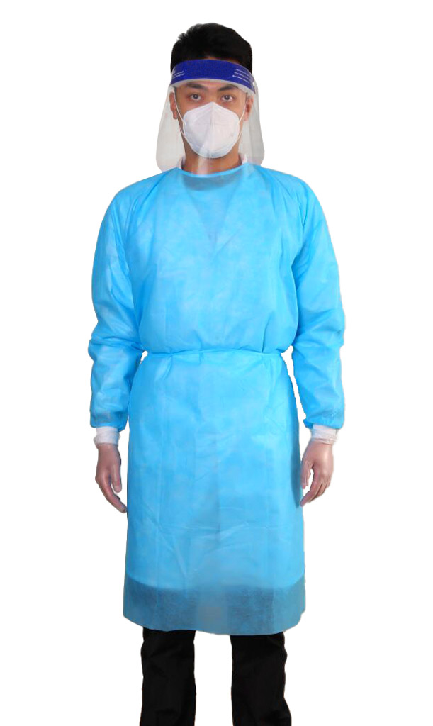 Splash Protection Gown 1